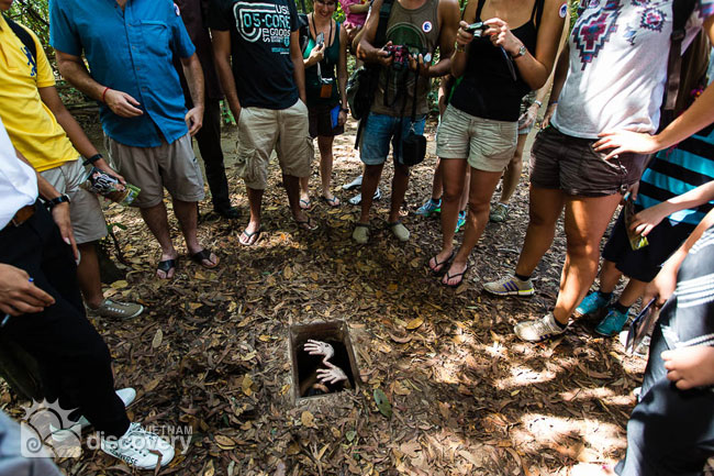 Cu Chi Tunnel Tour 1/2 day From Ho Chi Minh city